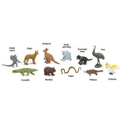 """Figurine cu animale """"Vietuitoare din Australia"""""""