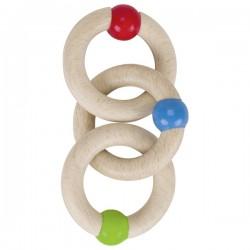 Jucarie tactila cu trei inele