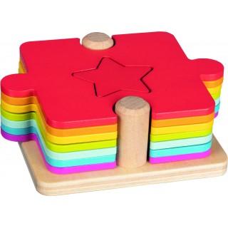 Puzzle si joc de stivuit