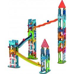 """Joc de construit si traseu cu bile """"Castelul"""""""
