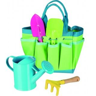 Set cu unelte de gradinarit pentru copii