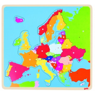 Puzzle Harta Europei