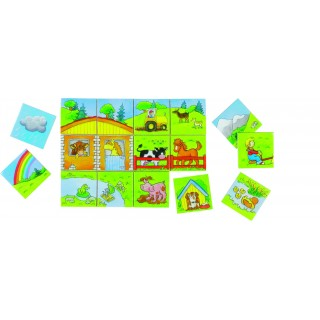 "Joc de puzzle ""My little world"""