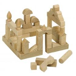 Mini joc de construit din lemn