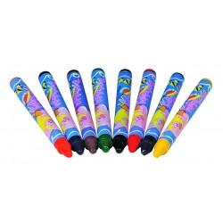 Creioane colorate cerate pentru textile
