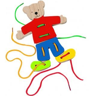 Ursulet pentru snuruit si puzzle