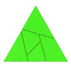 "Puzzle din piatra ""Triunghi"""