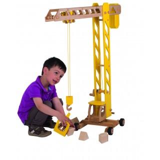 Macara gigant din lemn pentru copii