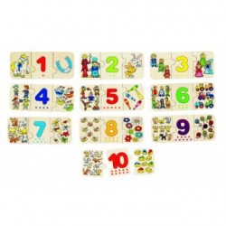 Puzzle cu numere si asocieri