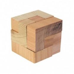 """Puzzle 3D din lemn """"cub"""""""