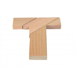 "Puzzle 3D ""Tricky T"""