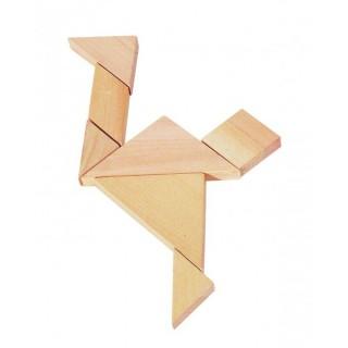 Puzzle 3D si tangram