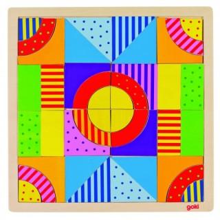 """Puzzle si joc de creativitate """"Lumea culorilor"""""""