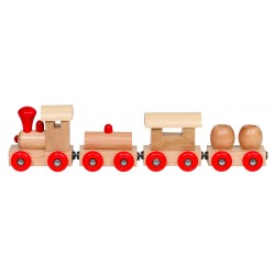"Trenulet din lemn cu prindere magnetica ""Praga"""