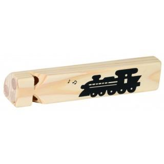 "Fluier din lemn ""Vine trenul"""