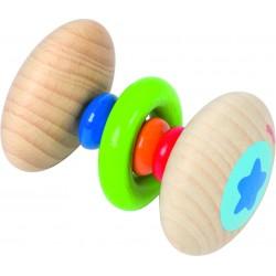 Mini zornaitoare din lemn pe suport elastic
