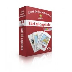 "Carduri educative ""Tari si capitale"""