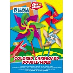 Hartie Colorata Dubla Ek Artberry 10/Set 10 Culori