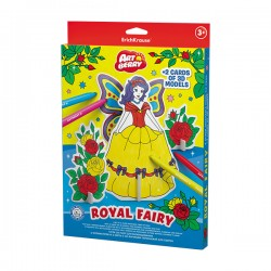 Puzzle 3D Ek Artberry Cu 6 Carioci Royal Fairy
