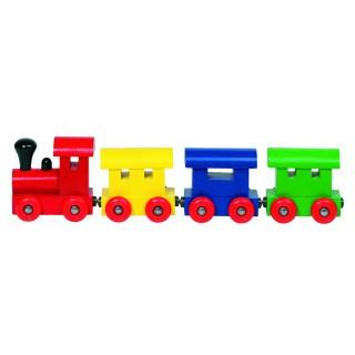 "Trenulet din lemn cu prindere magnetica ""Helsinki"""