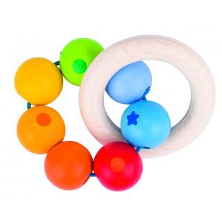 """Inel tactil cu bilute """"Soft colours"""""""