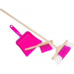 Set pentru curatenie (roz)